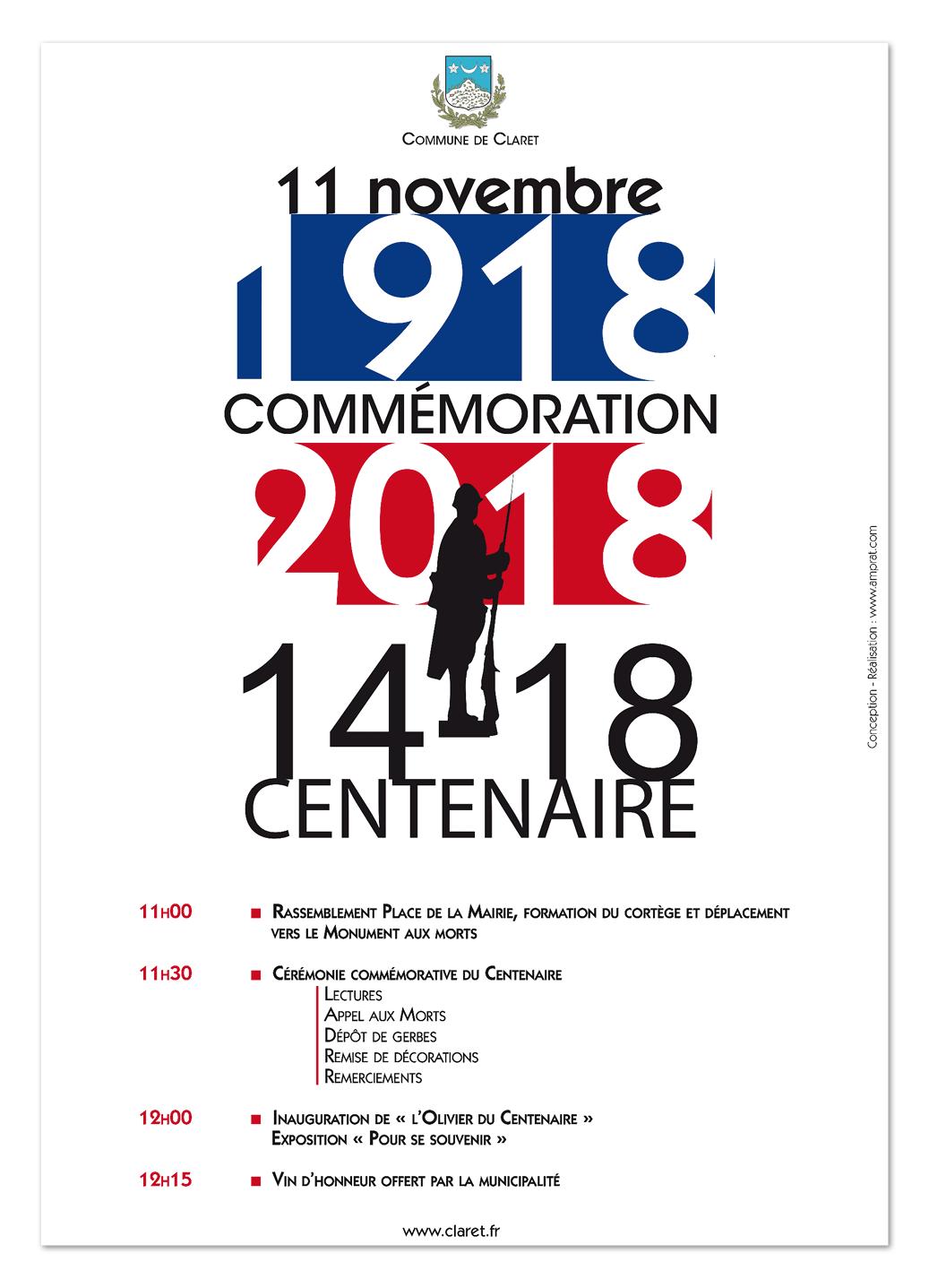 Commémoration 14/18 ∙ Anne-Marie Prat ∙ Design graphique et web