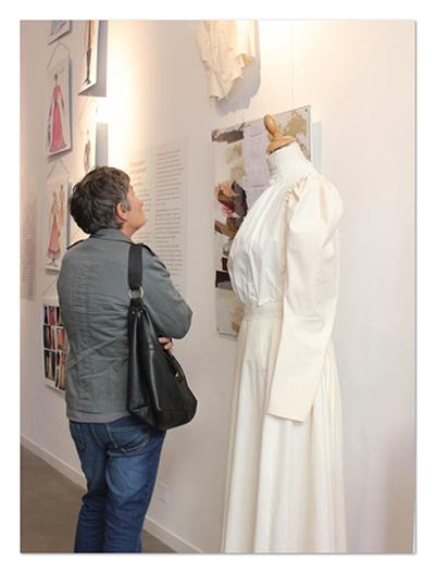 Exposition Costumes de théâtre ∙ Anne-Marie Prat ∙ Design graphique et web