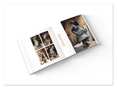 Livre Bellou sculpture  ∙ Anne-Marie Prat ∙ Design graphique et web